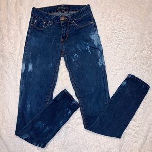 BDG Ankle Cigarette Distressed Stretchy Jeans 25